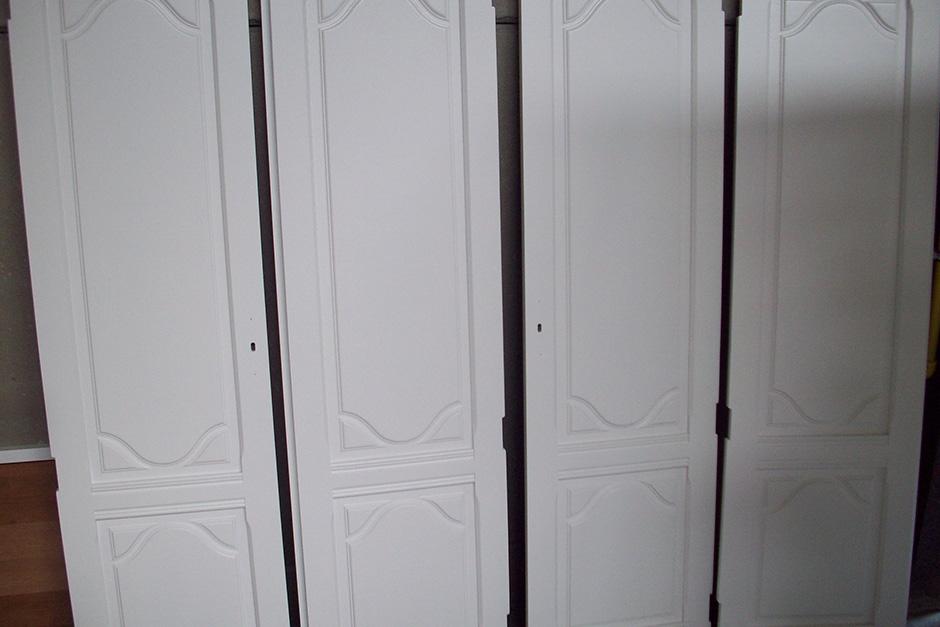 kastdeuren slaapkamer NA het lakken