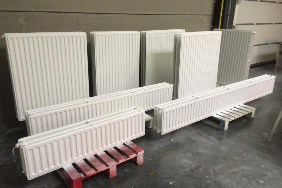 radiatoren krijgen nieuw kleurtje