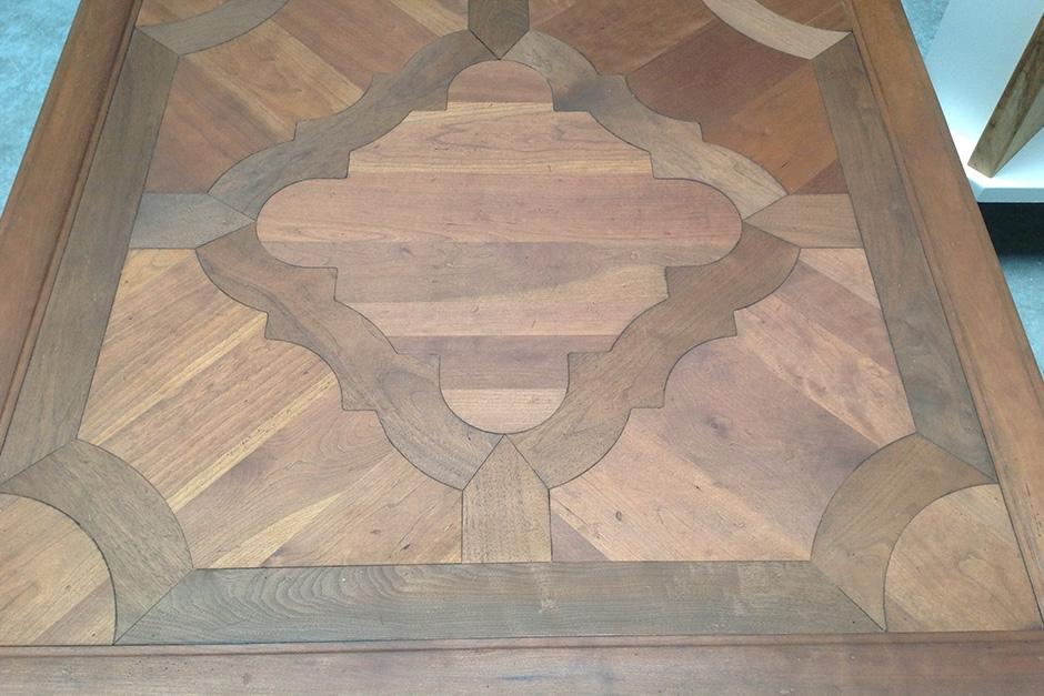 vernissen antieke salontafel NA
